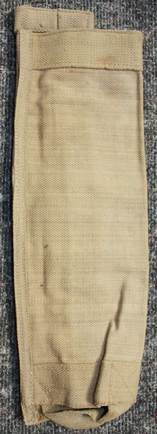 A 1944 DATED MORTAR AMMO CARRYING POUCH