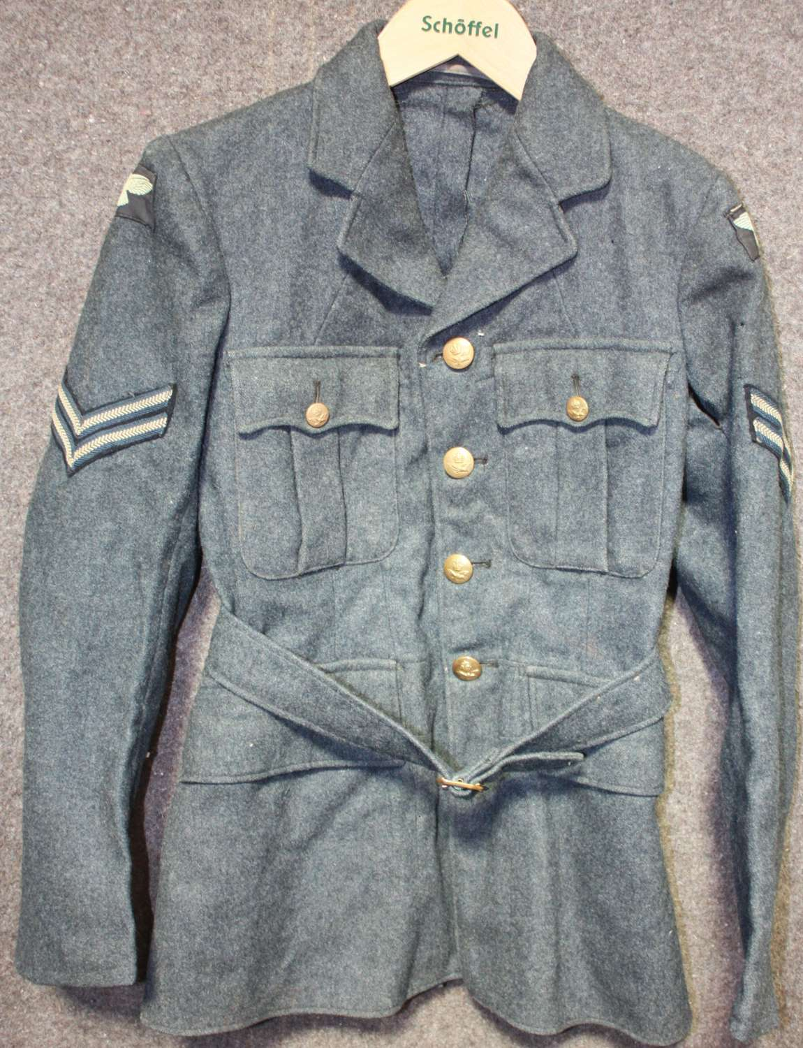 A SMALL SIZE 1940 DATED OTHER RANKS 4 POCKET TUNIC