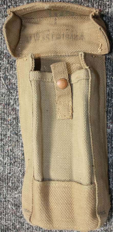 A MINT 1942 DATED MKIII AMMO POUCH