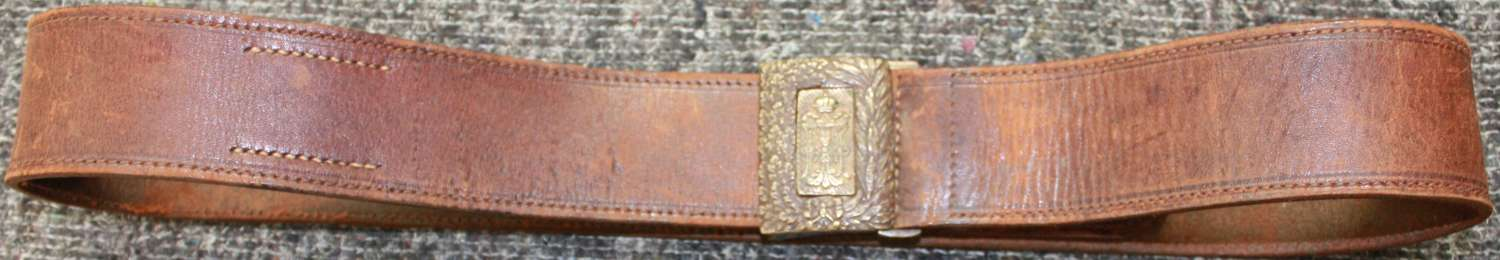 A WWI AUSTRO HUNGARIAN OFFICERS BELT