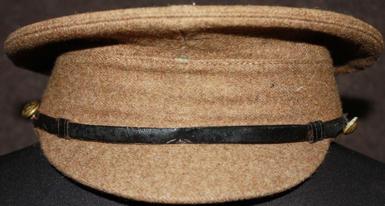 A 1950'S SERVICE DRESS OTHER RANKS CAP