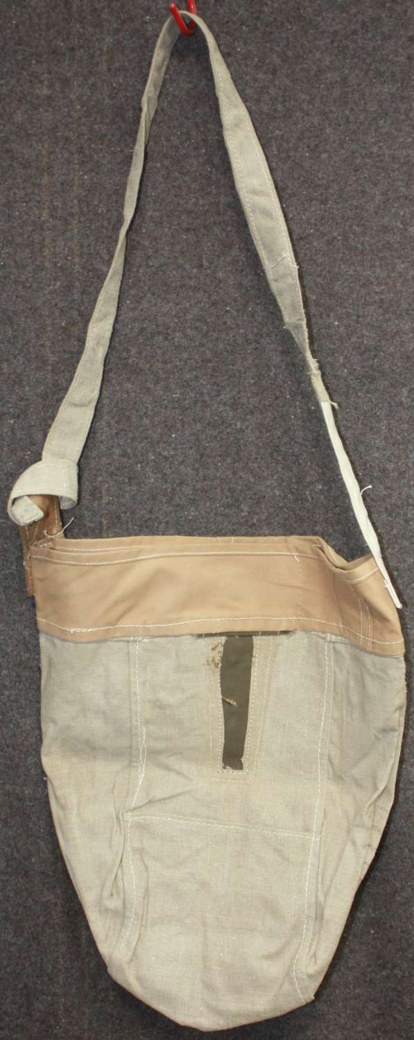 A SCARCE WWII HORSE OR MULE NOSE BAG