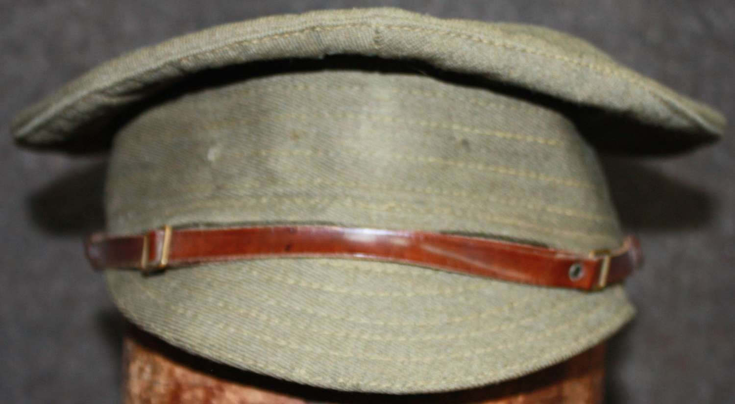 A VERY GOOD  WWI OTHER RANKS TRENCH CAP