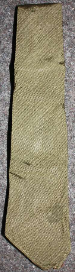 A WWII ARMY / ATS 1945 DATED TIE