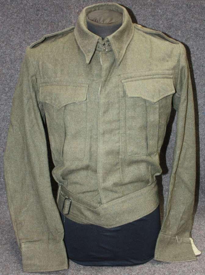 A WWII 1943 DATED SIZE 10  AUSTRALIAN BATTLE DRESS BLOUSE