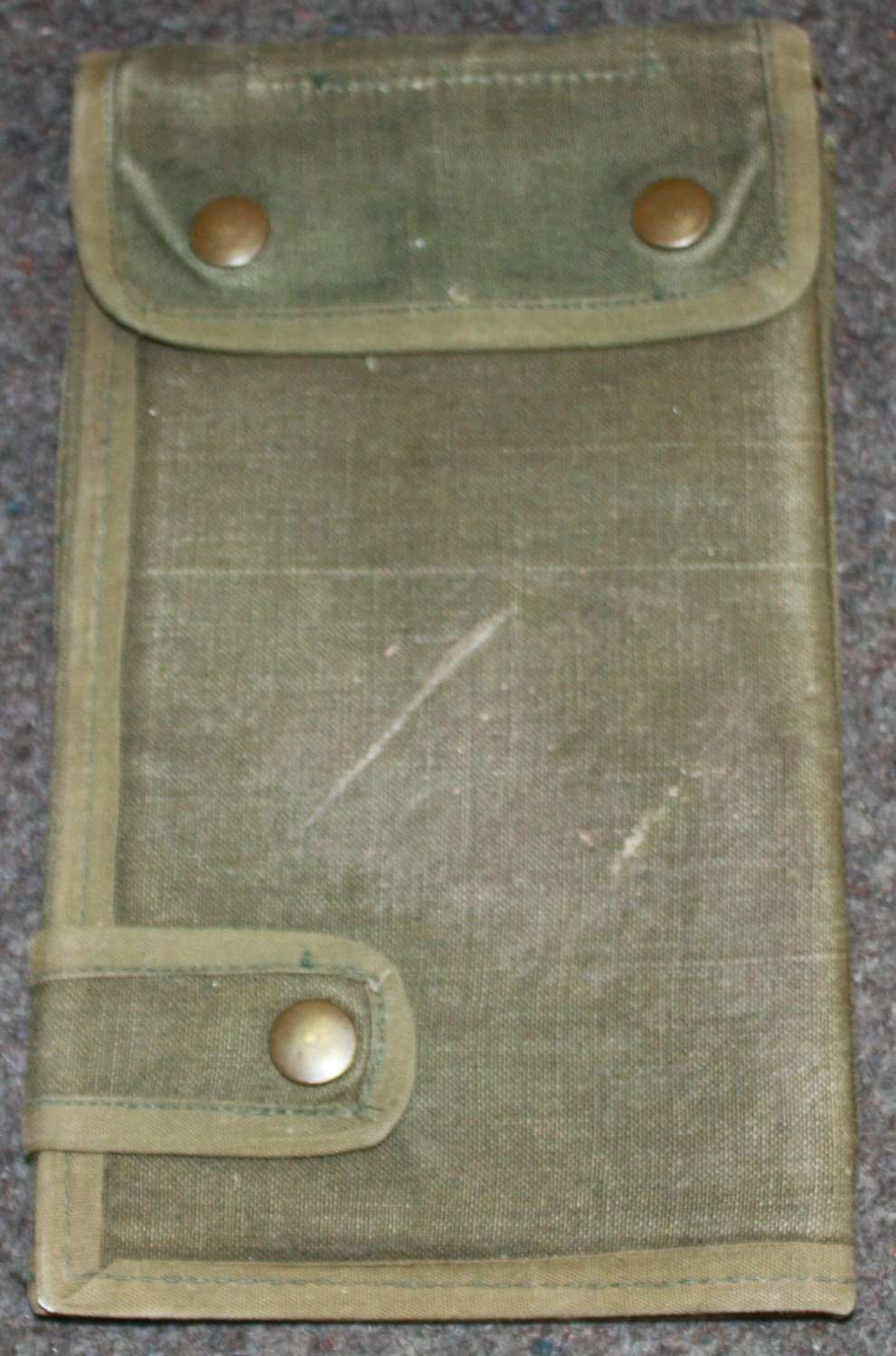 A 1945 DATED 44 PATTERN MAP CASE