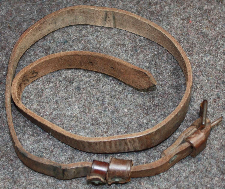A CAVALRY PATTERN MESS TIN STRAP