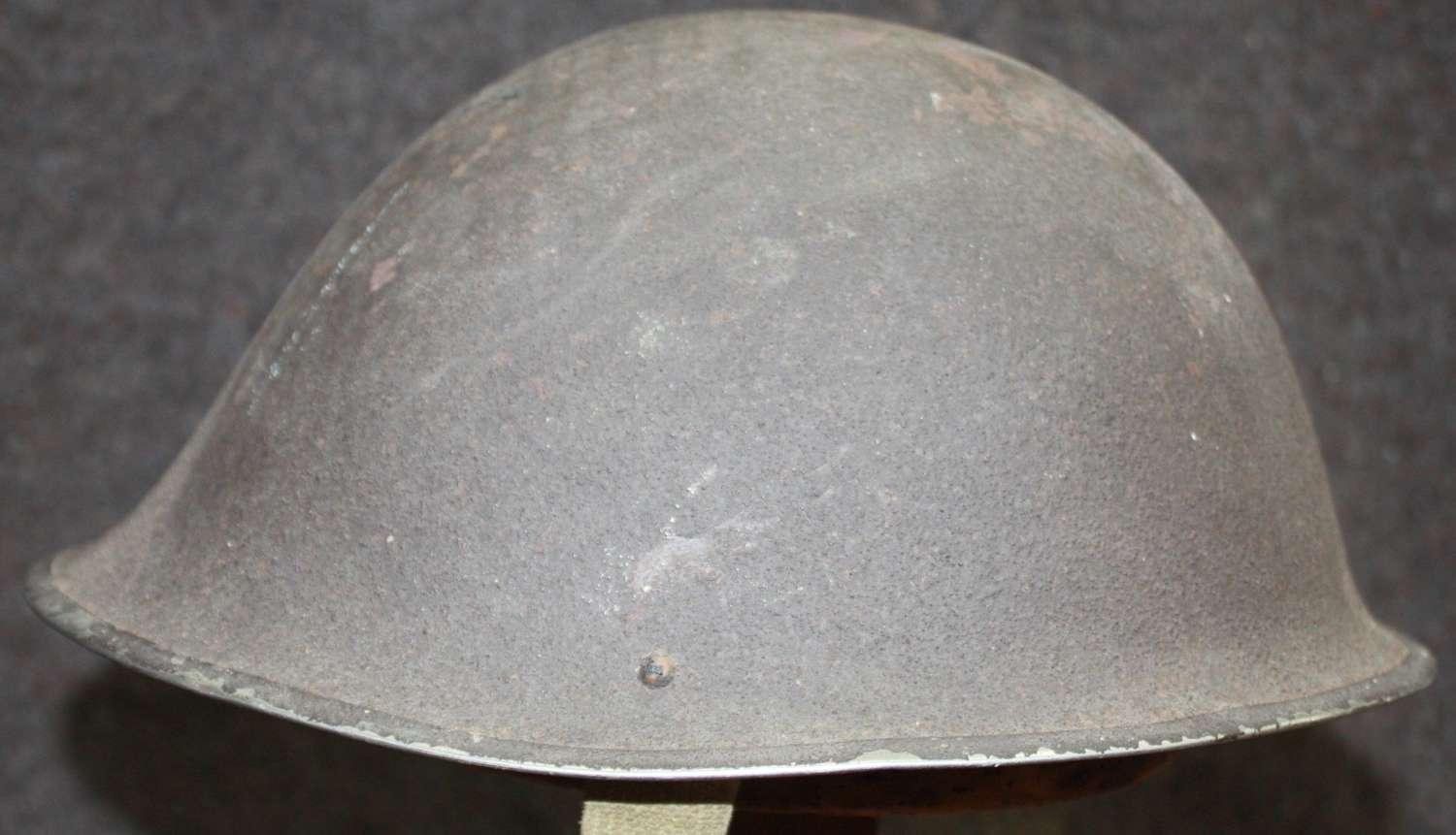 A LATE WAR 1945 DATED TURTLE HELMET