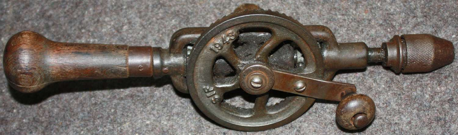 A GOOD EXAMPLE OF THE BRITISH 1943 DATED HAND DRILL