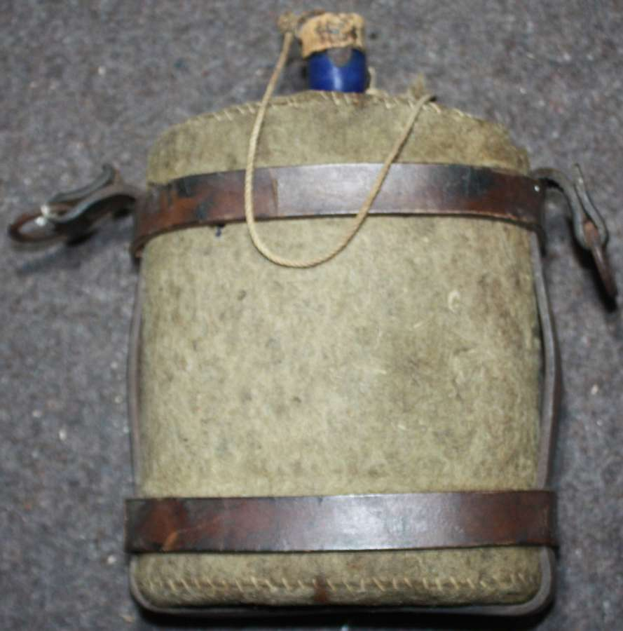 A GOOD WWI PERIOD WATER BOTTLE