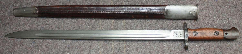 A WILKINSON SWORD 07 PATTERN BAYONET UNIT MARKED TO K A E T & DG126JY9