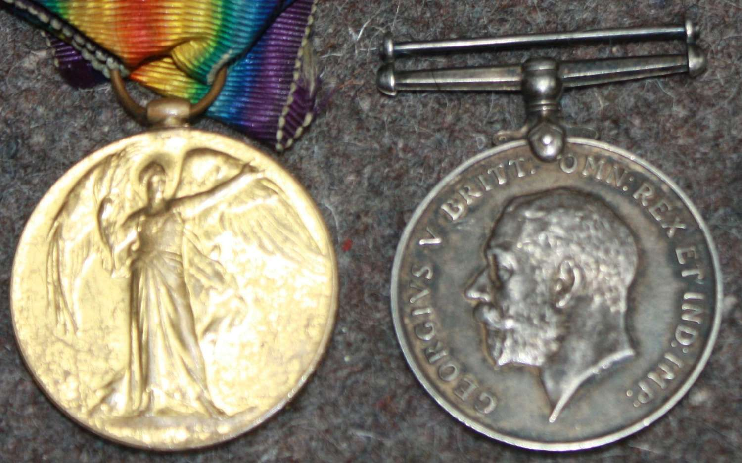 A WWI PAIR TO 306374 PTE T SHUFFLETON LIVERPOOL REGT