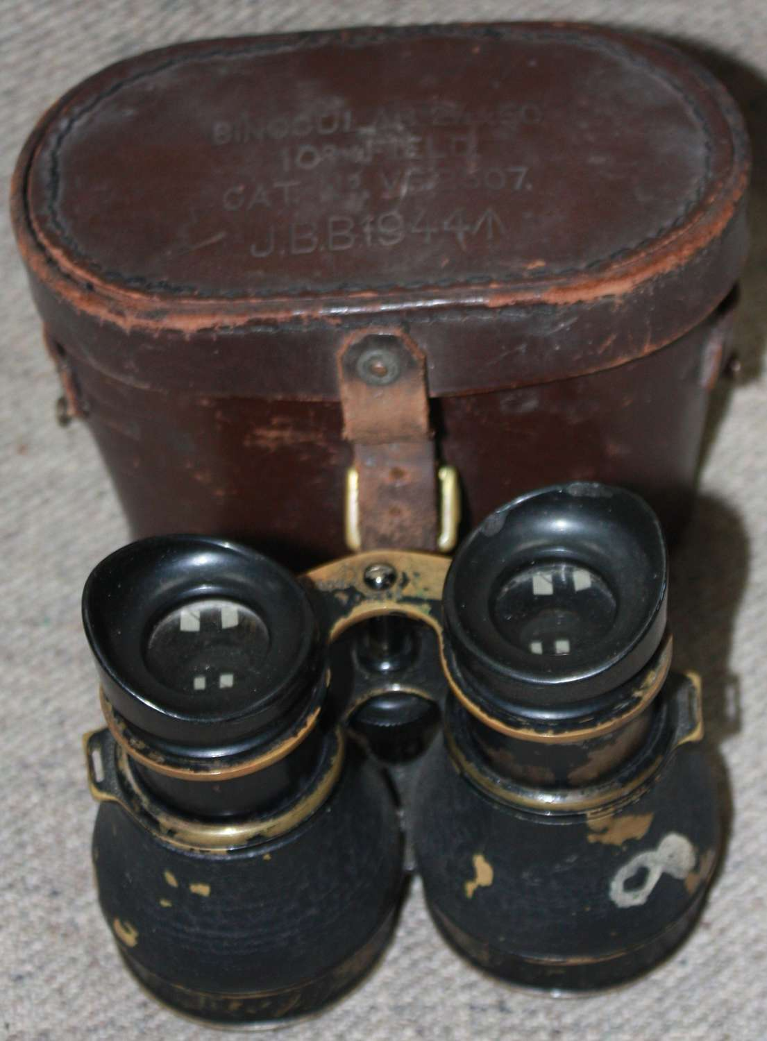A PAIR OF THE NIGHT USE AIRBORNE BINOCULARS