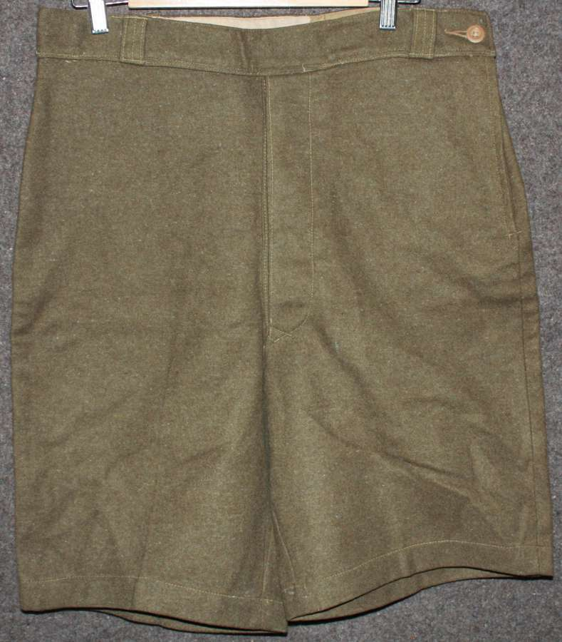 A PAIR OF THE TROPICAL ATS CONVERTED SHORTS