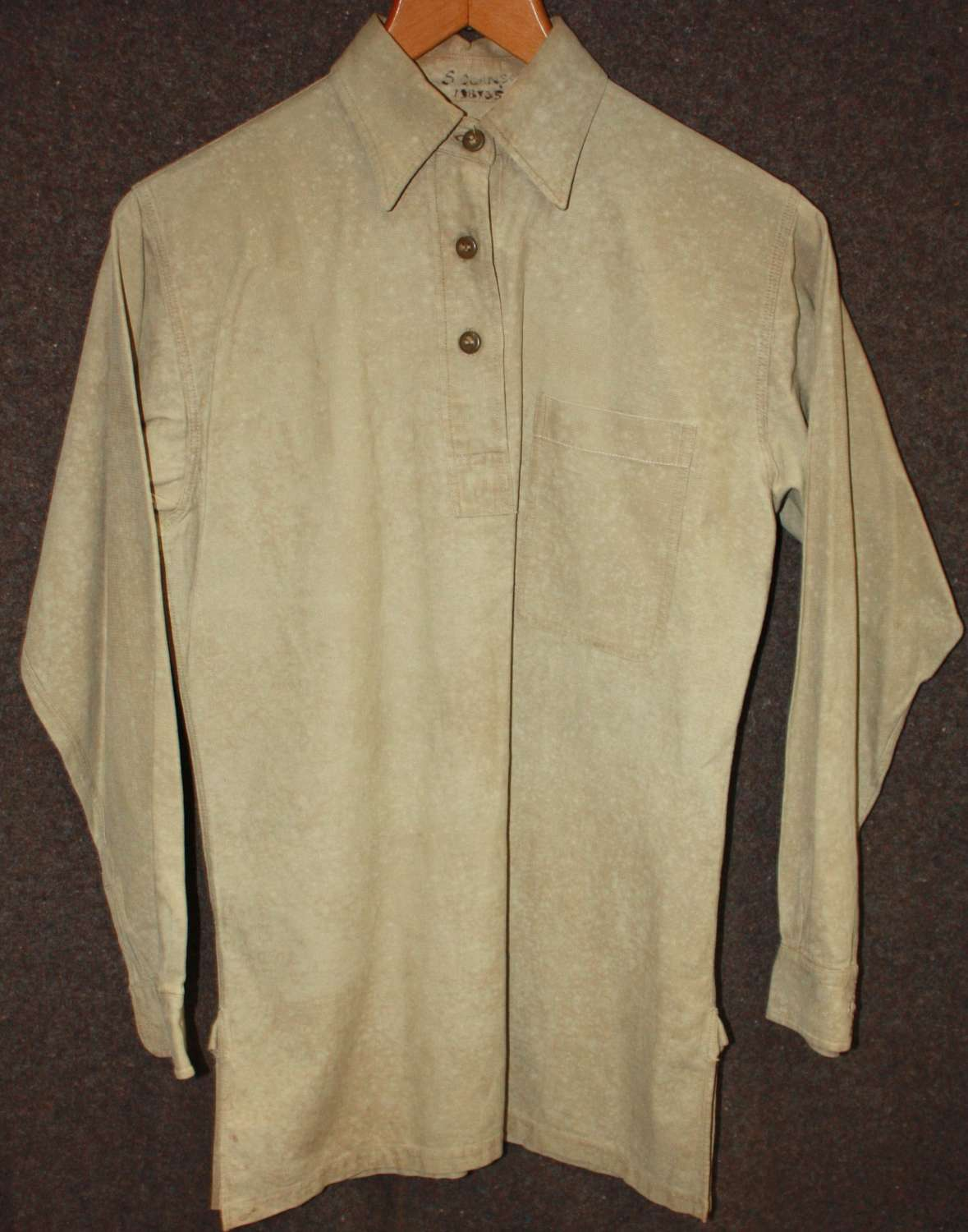 A WWII ATS WORKING BLOUSE GOOD SIZE
