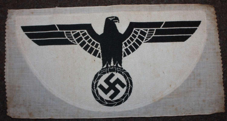 A WWII GERMAN ARMY SPORTS VEST EAGLE