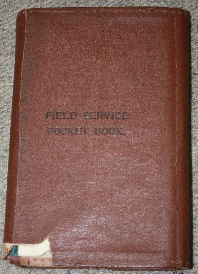 A 1916 COPY OF THE 1914 FIELD SERVICE POCKET BOOK