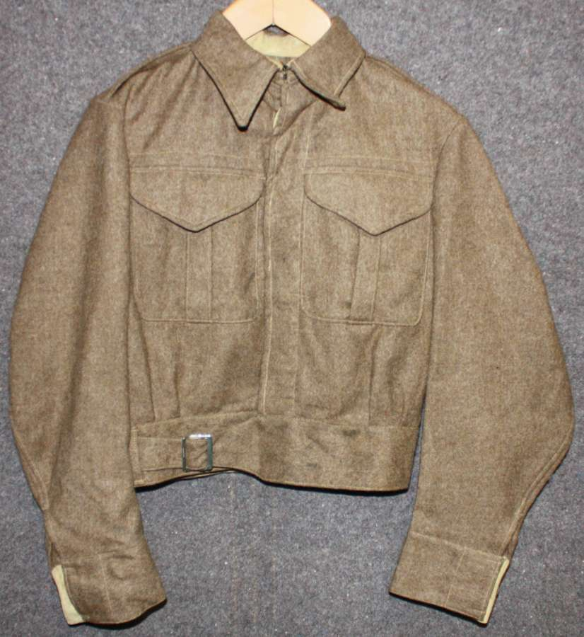 A 1942 DATED 37 PATTERN BATTLE DRESS BLOUSE SIZE 7