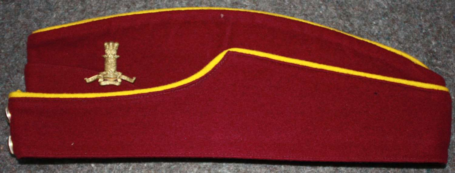 A GOOD RARE 11TH HUSSARS OTHER RANKS SIDE CAP