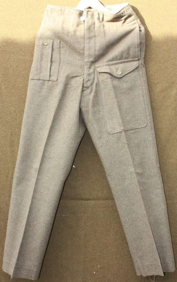 A FAIRLY GOOD PAIR OF 46 PATTERN BATTLE DRESS TROUSERS