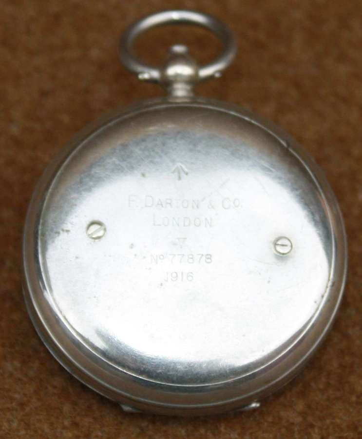A 1916 DATED BRITISH ISSUE POCKET COMPASS