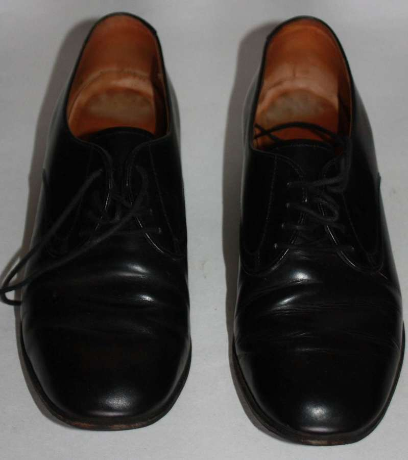 A PAIR OF 1980'S LADIES WRAC SHOES