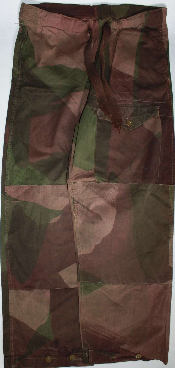 A GOOD 1944 DATED PAIR OF THE CAMMO WINDPROFF TROUSERS