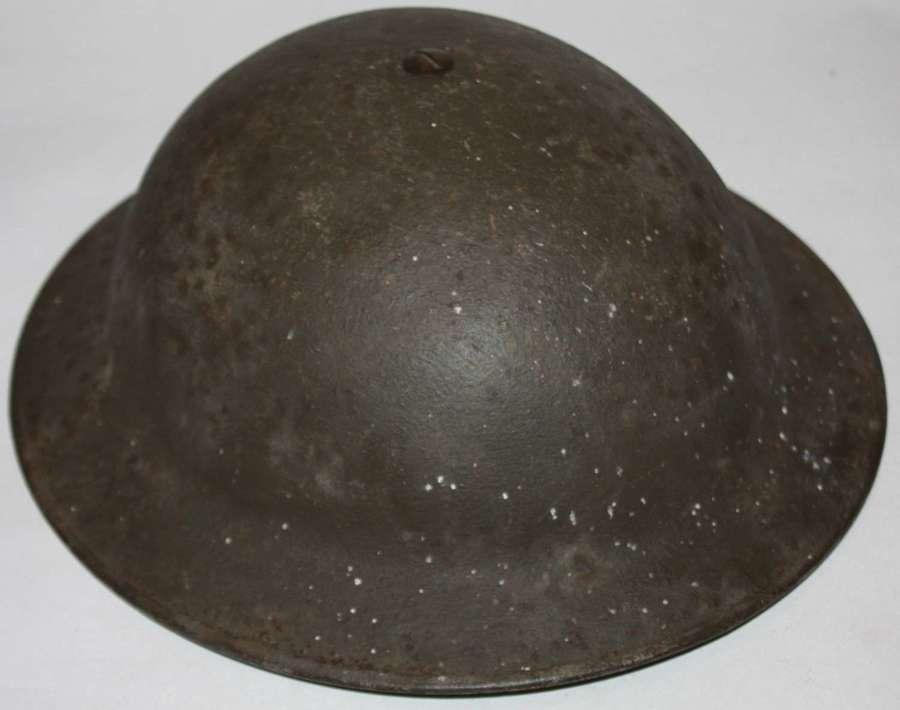 A VERY GOOD 1939 DATED ROUGH TEXTURED MKII HELMET