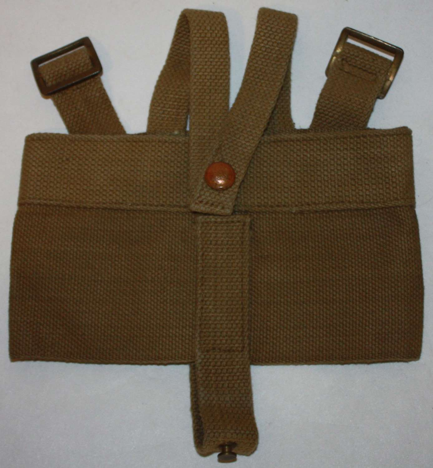 A GOOD 1940 CAVALRY PATTERN WATER BOTTLE CRADLE 1940 DATED