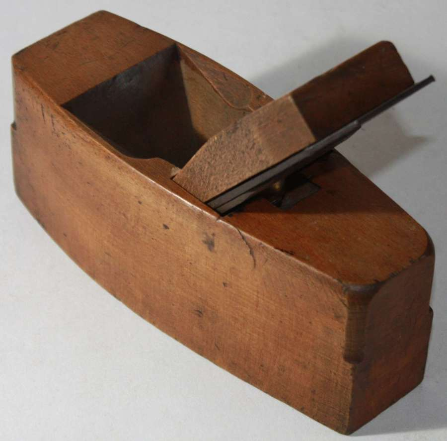 A 1943 DATED WOOD PLANE