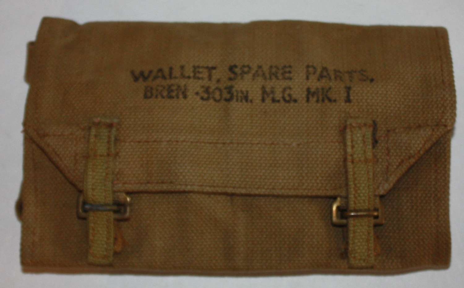 A MINT 1945 DATED BREN SPARE PARTS / CLEANING KIT WALLET