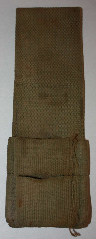 A LATE WWI PATTERN 08 BAYONET FROG