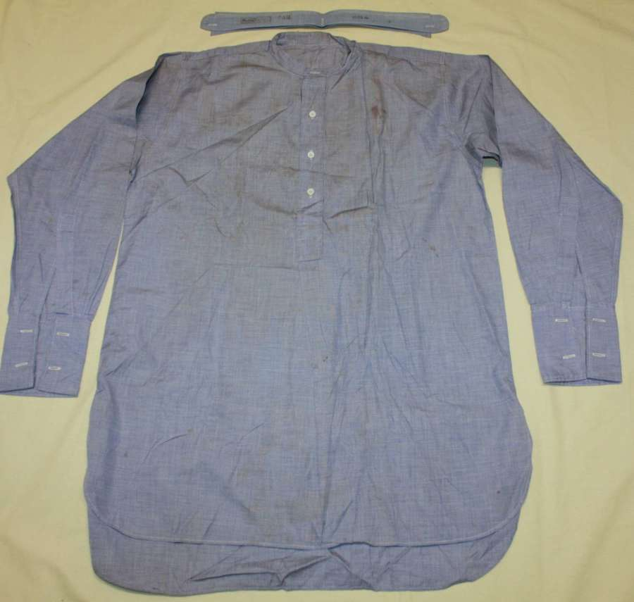 A 1945 DATED RAF OTHER RANKS COLLARLESS SHIRT